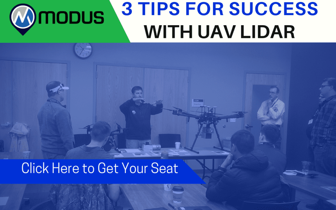3 Tips to Success with UAV LiDAR