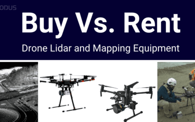 RENTING DRONE LIDAR VS OWNING